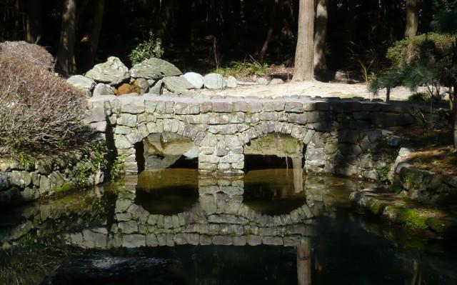 ドイツ人の 眼鏡橋