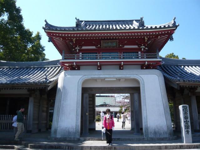 第6番安楽寺 竜宮門?