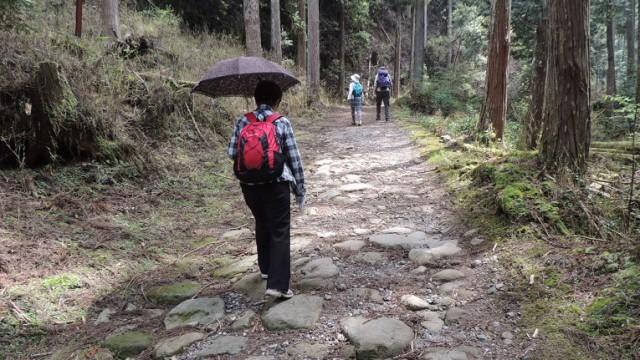 室生寺への道。